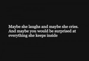 death girl quote Black and White depressed depression sad suicidal ...