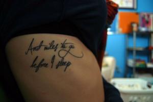 Tattoo, Quotes Tattoo, Tattoo Fonts, Side Tattoo, Quote Tattoos ...