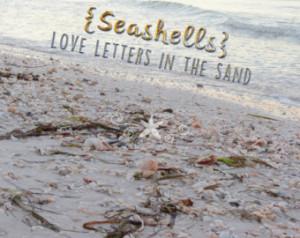 ... -life quote-inspirational quote-seascape-seashells-beach quote #2779