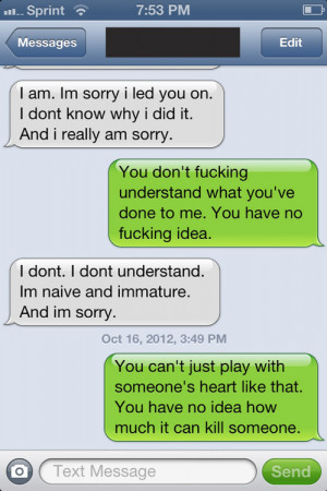 Funny Break Up Quotes to Boyfriend