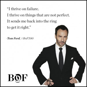 Tom Ford, as featured in the BoF exclusive, The Business of Being Tom ...