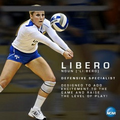 Volleyball Libero Sayings Libero!