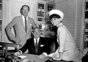 33-311 Audrey Hepburn and Rex Harrison of
