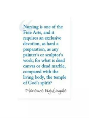 Florence Nightingale nursing quote