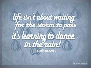 Rainy Weather...
