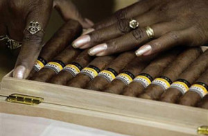 financial crisis put a dent in sales of luxury goods such as Cuban ...