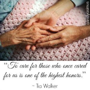 Children Caring for Elderly Parents