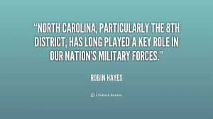 North Carolina, particularly the 8th District, has long played a key ...