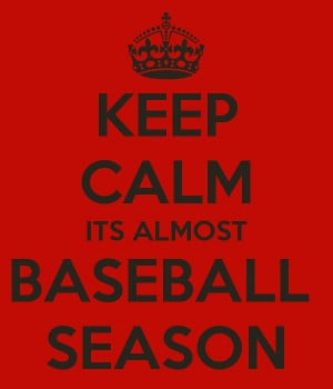 ... ITS ALMOST BASEBALL SEASON LOL @Mandi Duncan soo true!!!! Almost! =D
