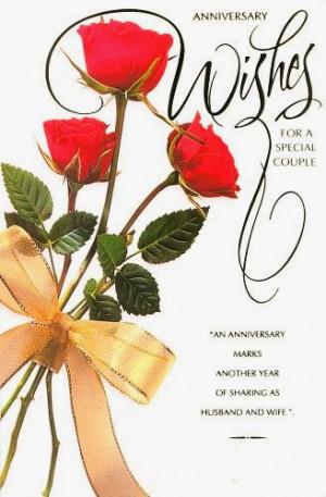 Cute Happy Wedding Anniversary Wishes Printable