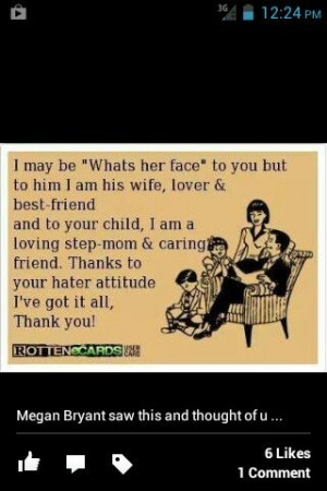 Step-mom quote,Step Parent Quotes, Step Moms Quotes, Mom And Stepmom ...