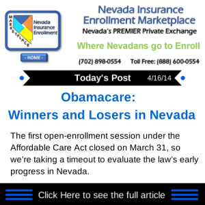Obamacare: Winners and Losers in Nevada