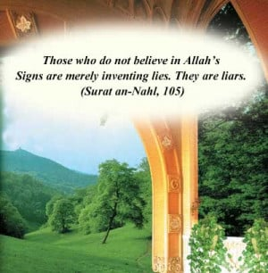 Allah also reminds people not to sacrifice truth and honesty in ...