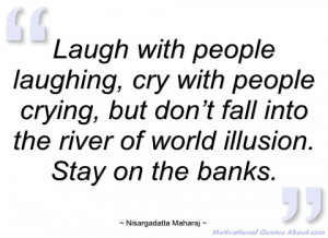 laugh with people laughing nisargadatta maharaj