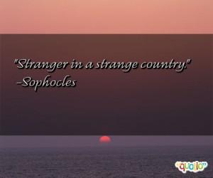 Strange Quotes