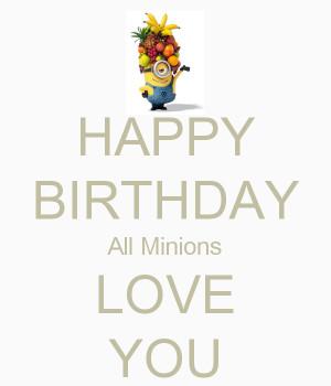 minion language happy birthday in minion language despicable me ...