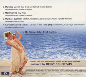 Mamma Mia Movie Soundtrack Abba mamma mia!