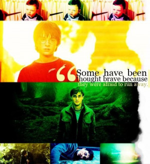Favorite quotes and sayings meaningful brave harry poter