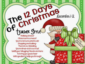 12 Days of Christmas-Teacher Style Linky Party