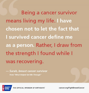 For many who are facing a breast cancer diagnosis, hearing from others ...