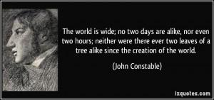 More John Constable Quotes