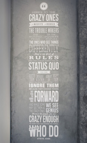 Quotes on posters are a very popular way to decorate on office or ...
