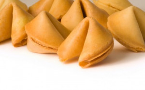 Fortune cookies are a great source for funny sayings ... and you can ...