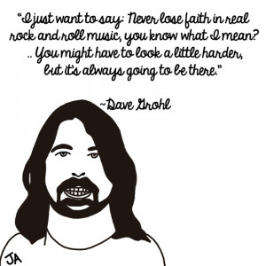 Famous Musicians Talk About Rock, In Illustrated Form