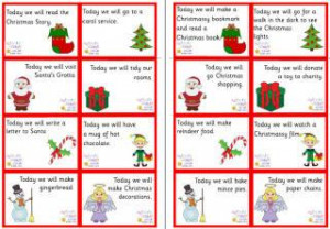 Ideas For Filling Your Home-Made Advent Calendars