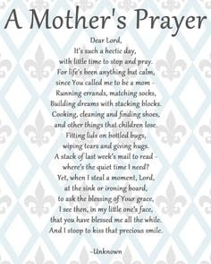 working mom prayer | The Corporate Housewife Mom: Manic Monday Quotes ...