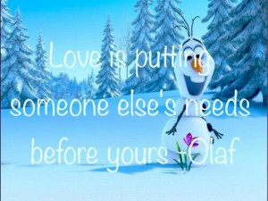 Olaf The Snowman Quotes Olaf quote miracle alert!
