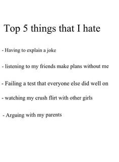 ... not around me. I need to study. Crush...QUIT FLIRTING WITH OTHER GIRLS