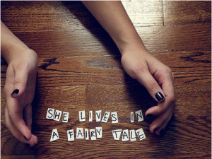 cute, fairy tale, fun, hands, lyrics, paramore, photography, quote