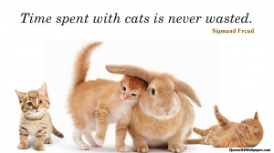 Sigmund Freud Cats, Time Quotes Images, Pictures, Photos, HD ...