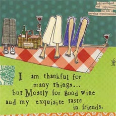 "Good Wine, Exquisite Taste"" Card - Dragonflies Gifts 