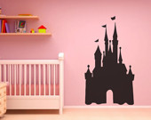 Princess Castle Peel and stick Chalkboard Vinyl Wall Art Quotes Decal ...