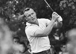 Arnold Palmer swing finish