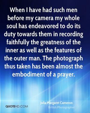 Julia Margaret Cameron Photography Quotes