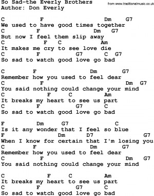 Sad Quotes About Love Songs : Depressing Lyric Quotes. QuotesGram