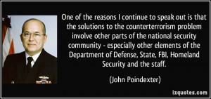 More John Poindexter Quotes