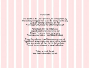 Poem about God's forgivenessPrivate Things, Poems Quotes, Sooo Sweets ...
