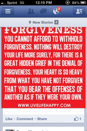 Forgiveness Quote QUOTES