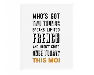 BUY 2 GET 1 FREE Typography Print, Quote Print, Liz Lemon, 30 Rock ...
