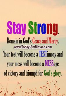 Blessing Inspirational Prayer