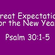 ... Eve pastor preaches 'Great Expectations for the New Year' (Photos