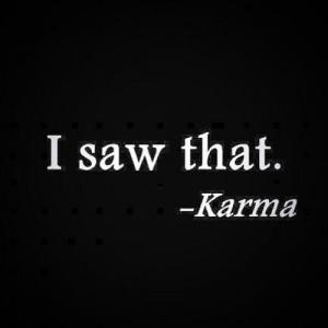 Good Karma Quotes Tumblr Good karma quo.