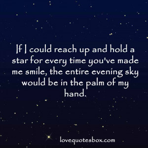 Love Quotes About Stars in the Sky