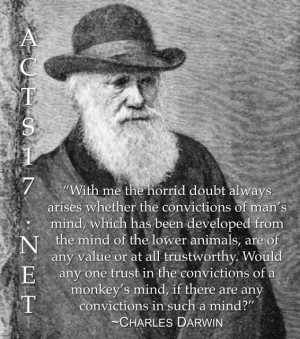 Charles Darwin on the Argument from Reason