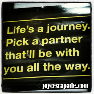 quotes about life partners quotesgram