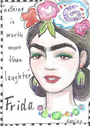 Sayings Quotes, Smile Quotes Watercolor, Freida Quotes, Quotes ...